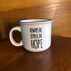 Always Be Joyful in Hope Mug